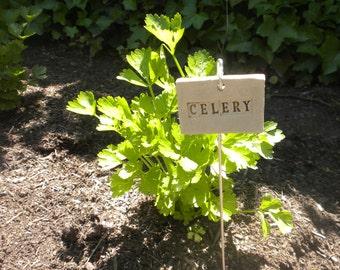Celery Plant Marker