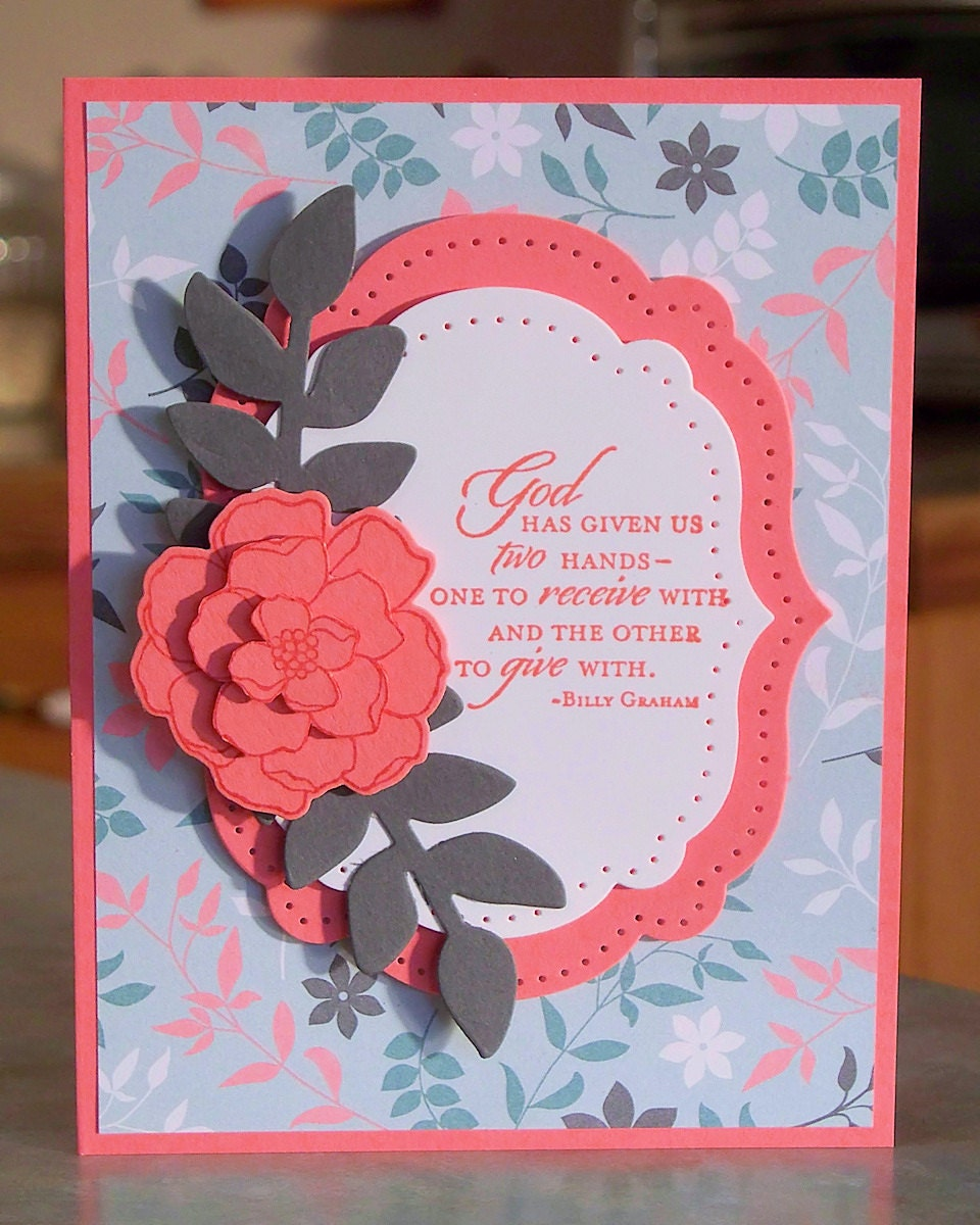 Inspirational Greeting Card Stampin Up Secret By