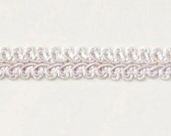 """E1901 White Gimp Sewing Upholstery Trim 1/2"""" (E1901-WH)"""