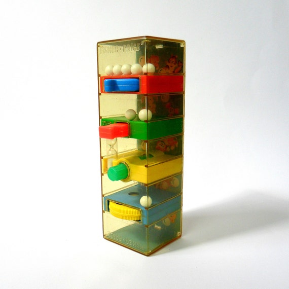 Fisher Price Tumble Tower 1971