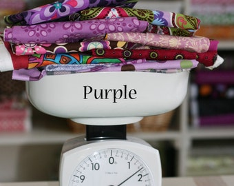 Fabric by The POUND Purple