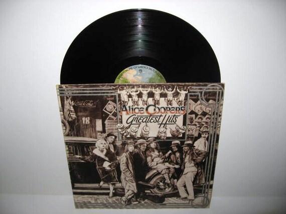 Vinyl Record Album Alice Cooper's Greatest Hits LP 1974 Shock Rock Horror Icon