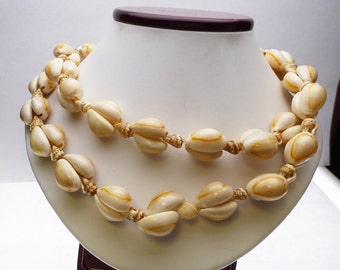 Long Shell Necklace Strand