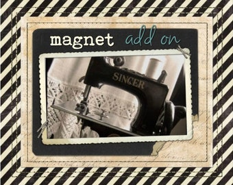 Sew-in Magnets ADD-ON for your Snap-on iPad Case