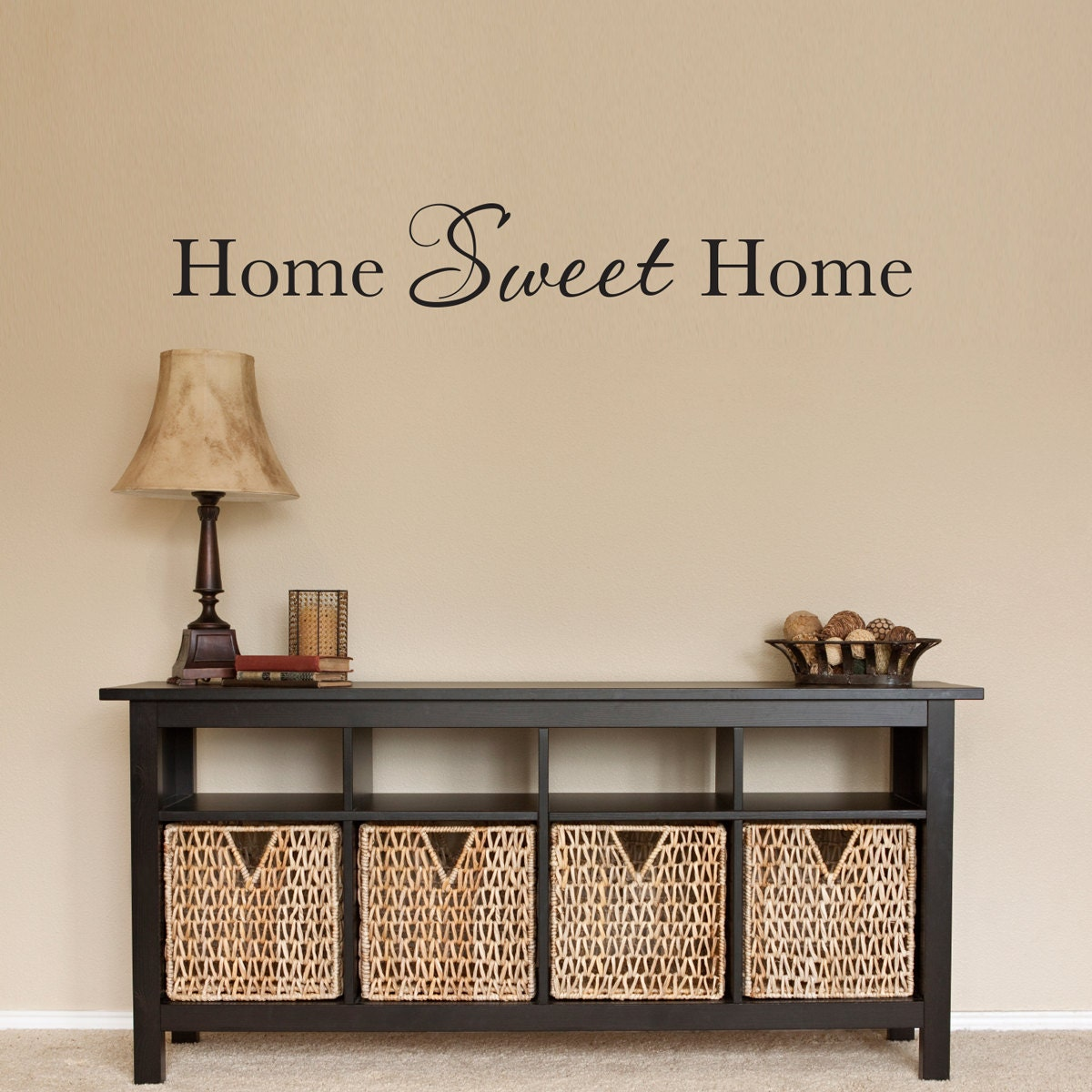 home sweet home wall decal home wall by stephenedwardgraphic
