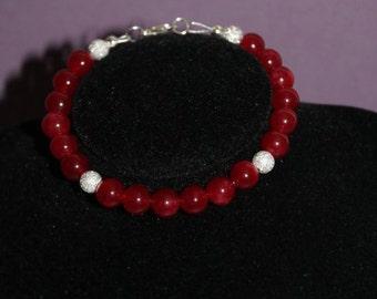 SANGUINE Jade semi precious  bracelet set