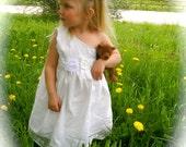 """Girls One OF a KinD Flower Girl Dress / Baptisms / Christenings / Birthdays / WeddingS / Portraits More""""JezeBelle"""""""