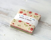 "Odds and Ends Mini Charm Pack by Julie Comstock of Cosmo Cricket for Moda - pre-cut 2.5"" fabric squares"