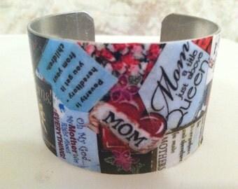 Mom Cuff Bracelet