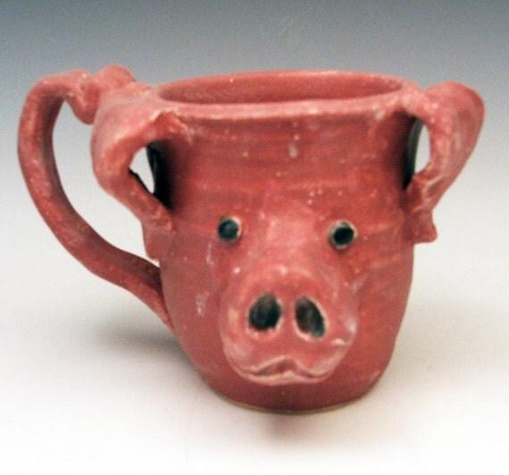 Pig Mug/Face Mug: Perfectly Pink Perfection