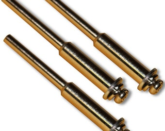 """GLS-442, 3pcs Mandrel Set with 1/8"""" (3mm) Shank and Screw Fits Dremel And Most Rotary Tools"""