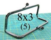 5 Duskcoat Gunmetal(TM) 8x3 purse frame