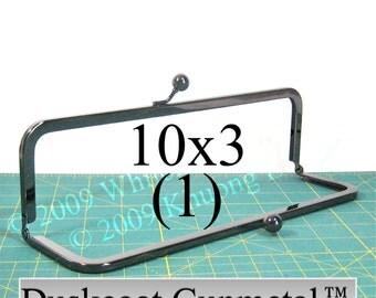 10x3 Duskcoat Gunmetal(TM) purse frame