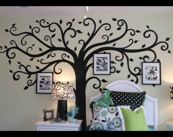 Swirl Tree Decal
