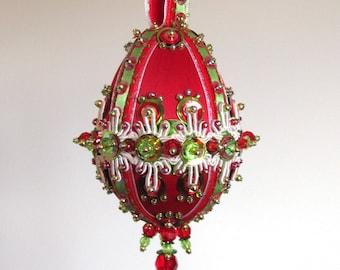 "Beaded Ornament Kit ""Good King Wenceslas"""