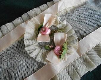 victorian pink rose corset dress form boudoir