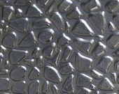Nickel Silver Texture Metal Sheet Small Pebble II Pattern 20g - 3 x 2 1/4 inches - Hammering Sheet Metalwork