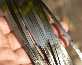 Nickel Silver Bezel Wire - Handmade - 3mm wide - 28 Gauge - 3 feet length
