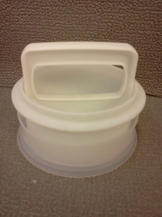 Tupperware Hamburger Press