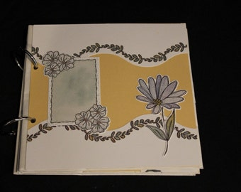 Springtime Paper Bag Photo Album