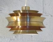 Danish Modern Space-Age Pendant Light