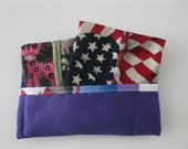 Set of 3 American Flag Tissues Covers