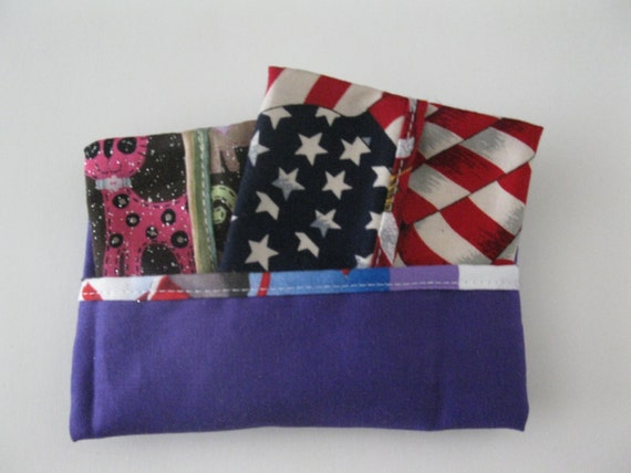 Close-out Set of 3 American Flag Tissues Covers