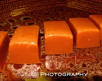 Peanut Butter Caramels - Great for WEDDING, ENGAGEMENT, PARTY Favors
