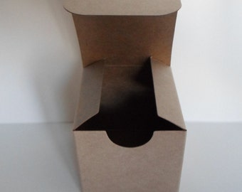 Little Boxes Small Kraft Boxes | Craft Supply  Favor Box | One Piece Box | 2x2x2 inch Box | Craft Supply | DIY Gift Box | Packaging