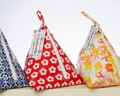 Wash bag for kids and light travelling- oilcloth fabric