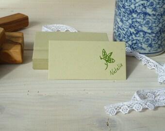 Dinky Custom Dragonfly Olive Wood  Stamp