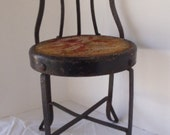 Antique CHILDS/DOLL Ice Cream CHAIR