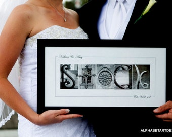 Alphabet letter Photography - Custom 10x20 PRINT  (unframed)