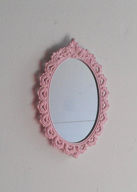 metal frame wall mirror