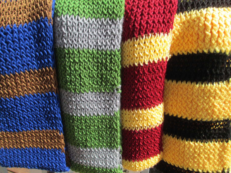 all four hogwarts house color scarves size custom