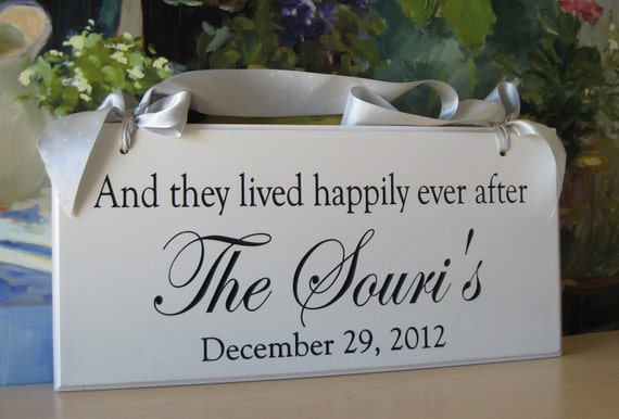 2 sided sign, Wedding Sign Carved Personalized Family Name Sign 8 x 16  Makes a great wedding or anniversary gift