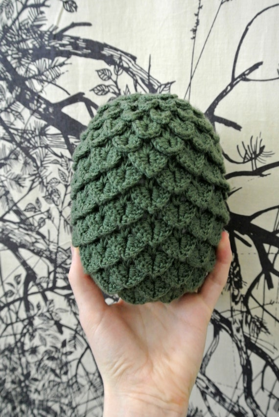 Free Crochet Pattern Game Of Thrones : Game of Thrones Inspired Dragon Egg Plush - Pattern Only ...