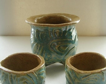Popular items for clay container on Etsy