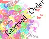 Custom order listing for ''Nita''