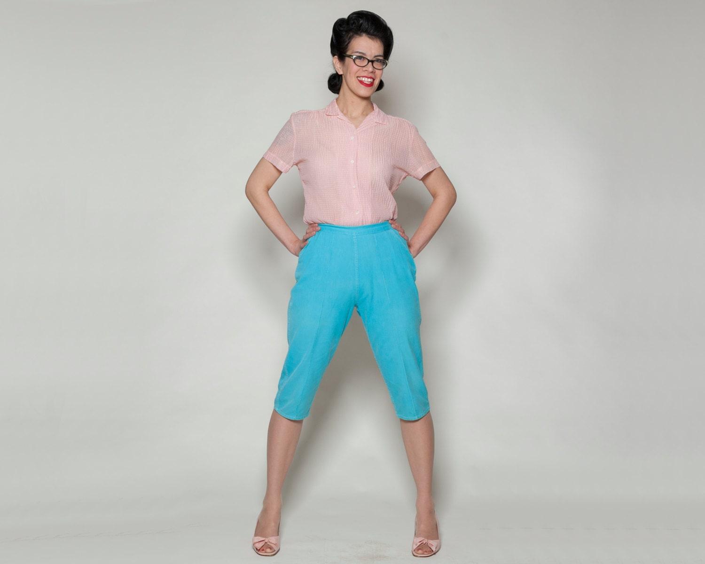 Unique 50s Fashion Pants 1950s Capri Pants