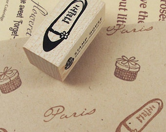 Flat Shoes Stamp (0.8 x 1.6in)