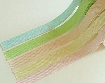 Ribbon Solid Adhesive Fabric Tape (0.5in)