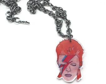 RIP Star Man Acrylic Pendant