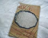 CLEARANCE ... 1936 Rice cookbook Souvenir Edition Texas Centennial Expo Dallas