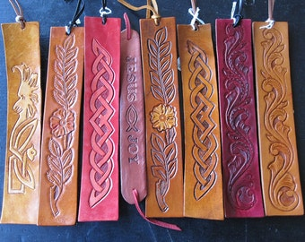 Leather Bookmarks for Your Avid Reader