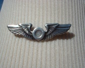 Vintage USAF Wings Pin Small
