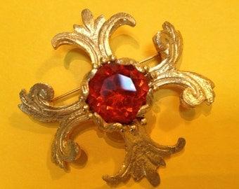 VANS Authentics Maltese Cross Pendant Brooch Book Piece