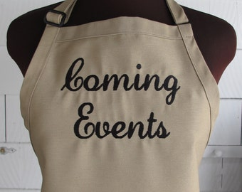 Personalized Apron - Customize with Any Text or Business Name