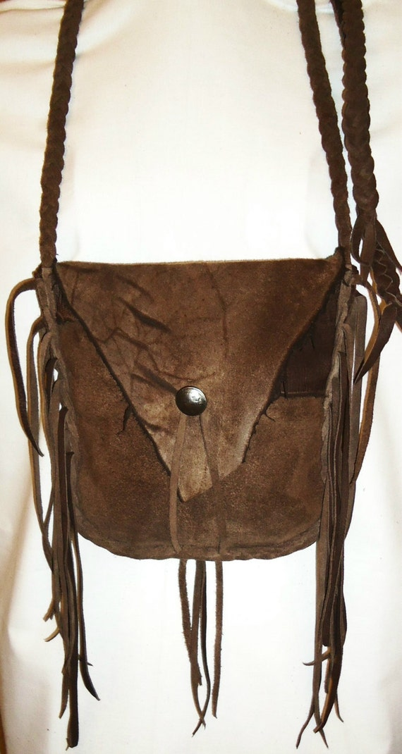 leather possibles bag purse mountain by leatherbaglady