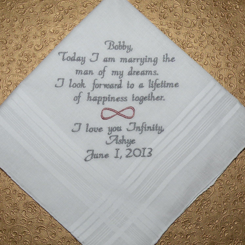 Browning Symbol Wedding Invitations Infinity symbol message to